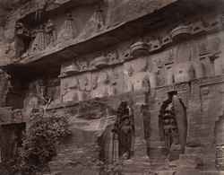Rock-cut sculptures of Jain tirthankaras, Gwalior